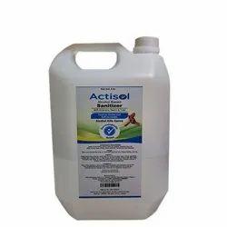 Actisol Alcohol Based Hand Sanitizer 5 Litre