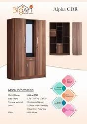 BigArt Multicolor Alpha Center Dressing Wardrobe, For Home