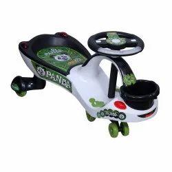 White, Black 51145 Eco Panda Magic Car, For Playing