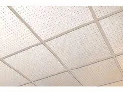 White Grid Ceiling Service
