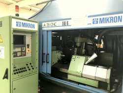 Cast Iron CNC GEAR HOBBING MIKRON A35/36, Automation Grade: Automatic