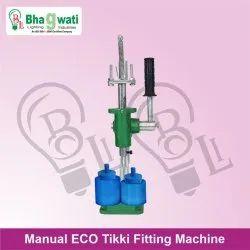Manual Tikki Fitting Machine(ECO)