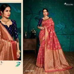 Kesar Silk Banarasi Silk Saree Catalogue Set
