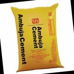 Gray Ambuja Cement, Packaging Size: 50 Kgs Bag