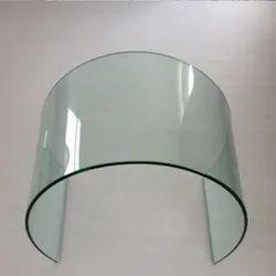 Transparent 12mm Curved Bent Tempered Glass