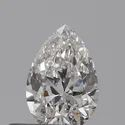 Pear 0.30 E IF Natural HPHT GIA Certified Natural Diamond