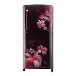 LG 4 Star Single Door Refrigerators, Model Name/Number: GL-B201ASPY.ASPZEBN, Capacity: 190 Litres