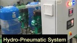 PRESSURE BOOSTING HYDRO PNEUMATIC SYSTEM