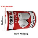 79mm x 40Mtr  48GSM Thermal Paper Rolls ( STICKWELL )