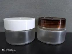 200ML ROUND FROSTED CREAM JAR
