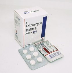 Azista-250 Azithromycin 250mg Tablets IP, 60 Tablets