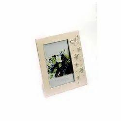 Crystal Studded Butterfly Adorned Photo Frame