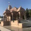 Sandstone Temple Construction Service