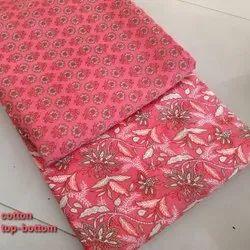 Printed Cotton Fabric, Floral, Multicolour