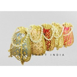 Gota Embroidered Potli Bags