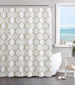 Gold and White luxery curtain