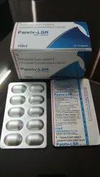 Pantoprazole 40mg Levosulpiride 75 mg SR Capsule