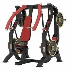 Seated Incline Chest Press Machine, For Gym