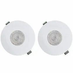 Ceiling Spot Light Lamp Bulb 2 Watt LED Blue Light 6000k Recessed Downlight With Jbox