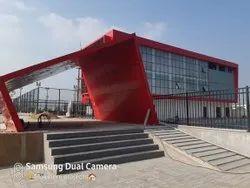 Educational RED Building Construction, in Vijayawada