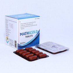 Paracetamol 325 Mg, Phenylephrine Hydrochloride 5 Mg, Caffeine ( Anhydrous)