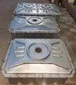 Mild Steel Bi Axial Rotomolding Machine