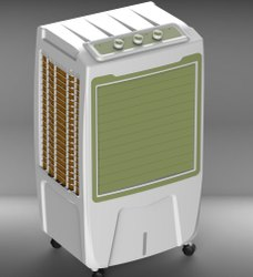 Motor White Plastic Air Cooler