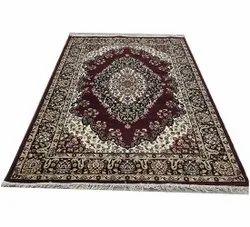 7x10 Feet Silk Kashmiri Floor Carpet