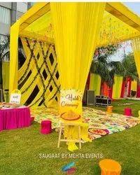 Decoration Haldi House Ceremony Organisers Services, Local