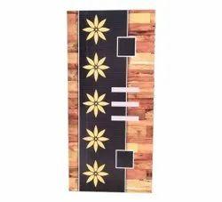 Designer 3D Digital Wooden Membrane Door, Size: 7 Feet