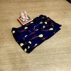 Printed Free Size Cotton Jaipuri Print Kurti