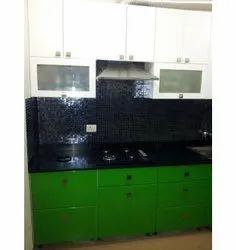 Modern Modular Kitchen Interior Designing, Work Provided: Wood Work & Furniture
