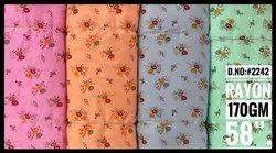 D.No. 2242 Rayon Floral Printed Fabric