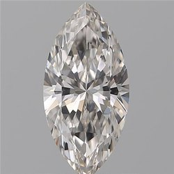 0.61ct Marquise H VVS1 GIA Certified Natural Diamond