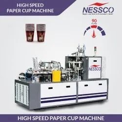 3 Phase Automatic Paper Glass Making Machine, 2300kg, Dimension: (2300*1200*1700 )mm