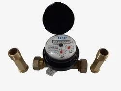 1/2 Inch Size Domestic Single Jet Water Meter