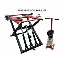 Washing Scissor Lift