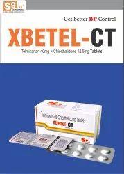 Telmisartan 40mg + Chlorthalidone 12.5mg Tablets