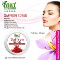 Cream Saffron Face Scrub, For Personal & Parlour, Packaging Size: 200 Gm