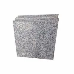 Polished Grey P White Granite Tiles, For Flooring, Thickness: 5-10 mm