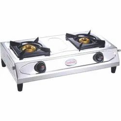 Stainless Steel Silver Sunflower Surya Marvel Lpg Gas Stove, For Home, Model Name/number: Classic