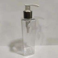 200 ML Square Bottle with Soap Dispenser.