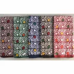 Printed Cotton Batik Multicolor Fabric, For Garments, 150