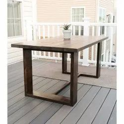 1.5h*1.5w*2l Feet 15 Kg Wooden Center Table