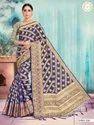 Woman Banarasi Silk Aree With Good Looking Blouse