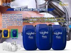 Wyko Liquid Dish Wash, For Dishwashing, Packaging Size: Can