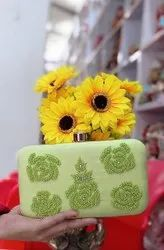 Handcrafted Embroidered Party Wear Clutch For Women