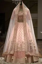 Party Wear Embroidered Silk Lehenga Choli