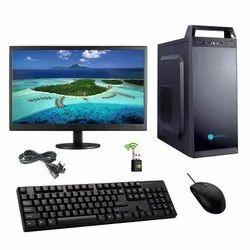 i3 Assembled Desktop Computer, Screen Size: 17, Windows 10 Home
