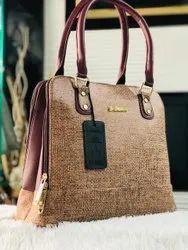 Pu Leather Printed Ladies Designer Hand Bag